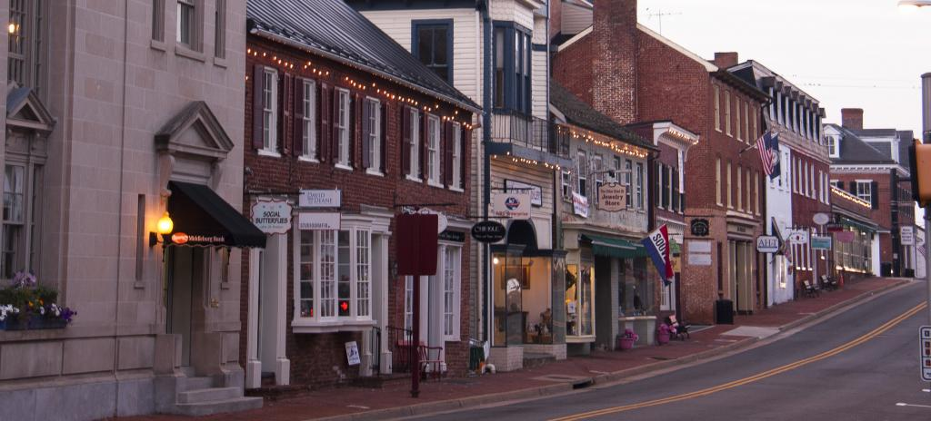 downtown Leesburg, Virginia